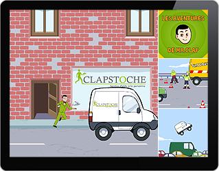 Animation Flash 2D Clapstoche
