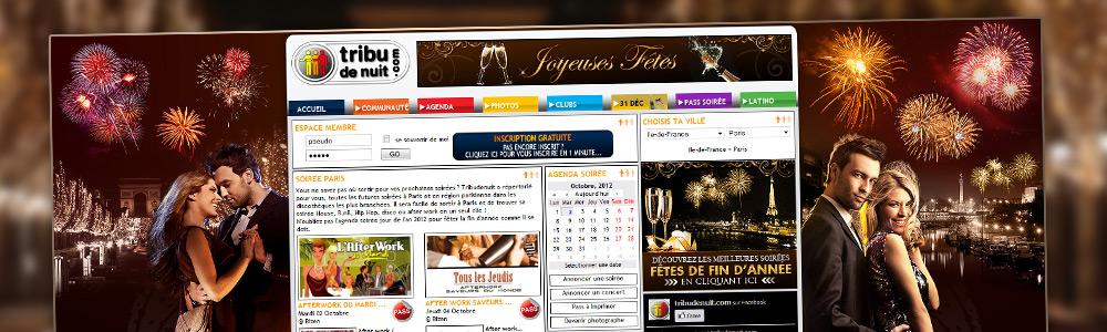 Design événementiel pour site web