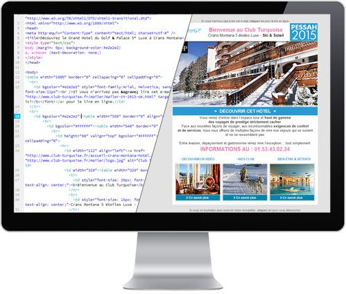 Emailing / Mailer - Agence web Paris