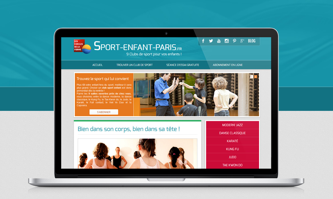 Sport Enfant Paris