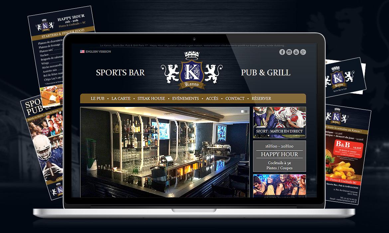 Kanon Sports bar pub & grill Paris