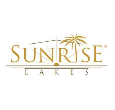 Réalisation du logo Sunrise Lakes