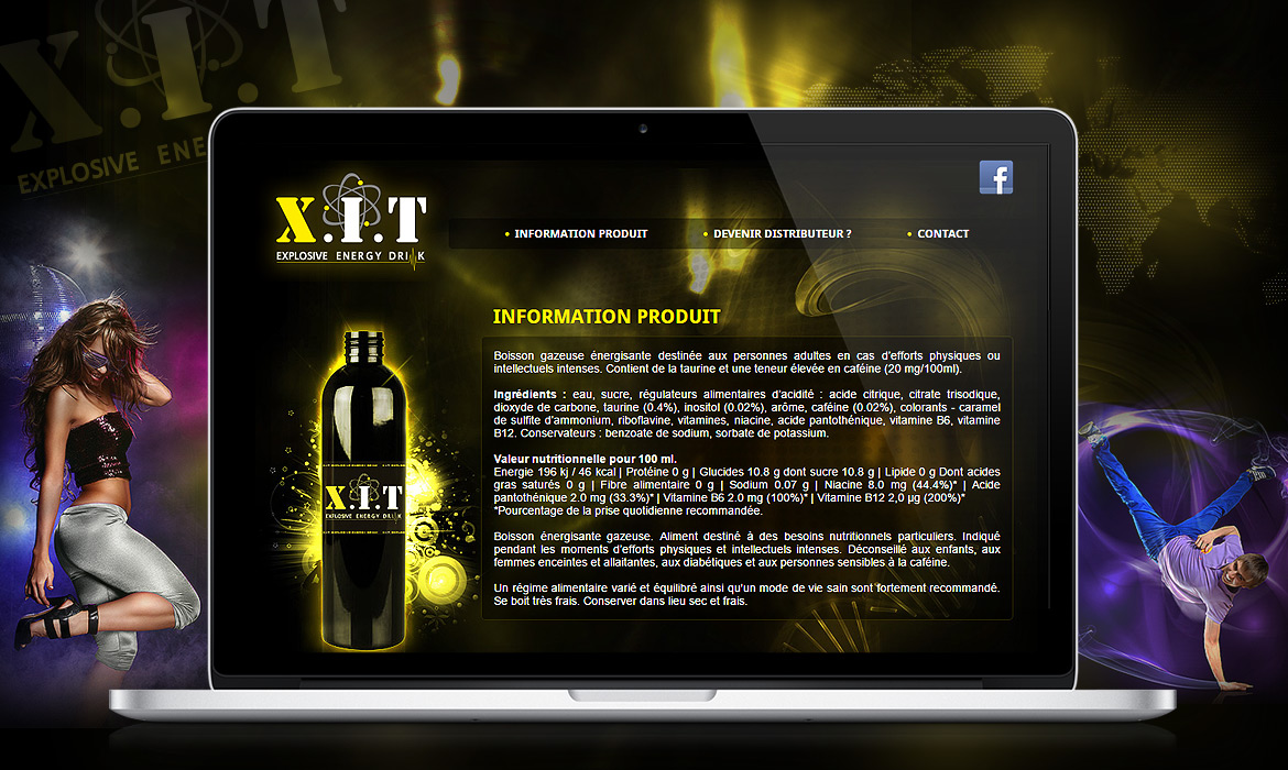 XIT Energy Drink