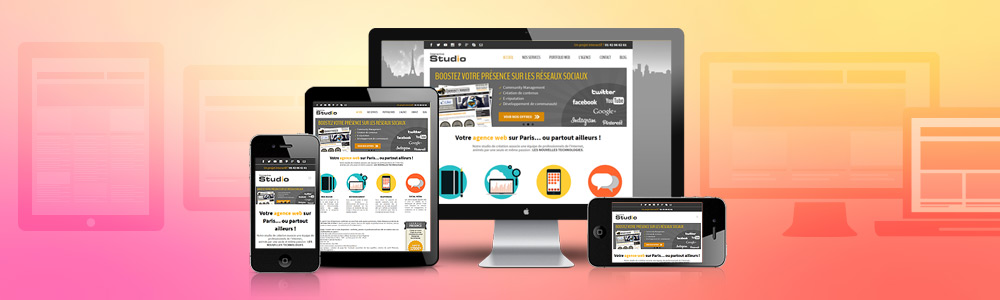 Création de site web responsive (Responsive Web Design)