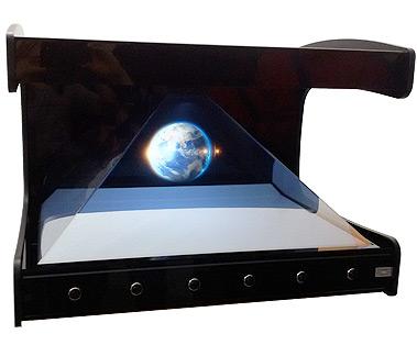 PLV Borne Hologramme 3D : SUPERNOVA