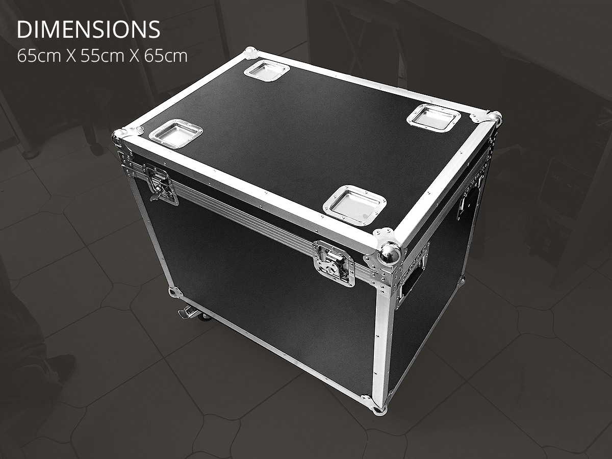 Flightcase transport pyramide SUPERNOVA