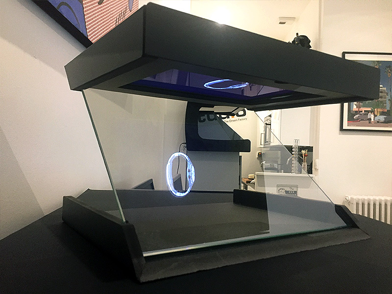 Vitrine Holographique One Face - Hologramme montre