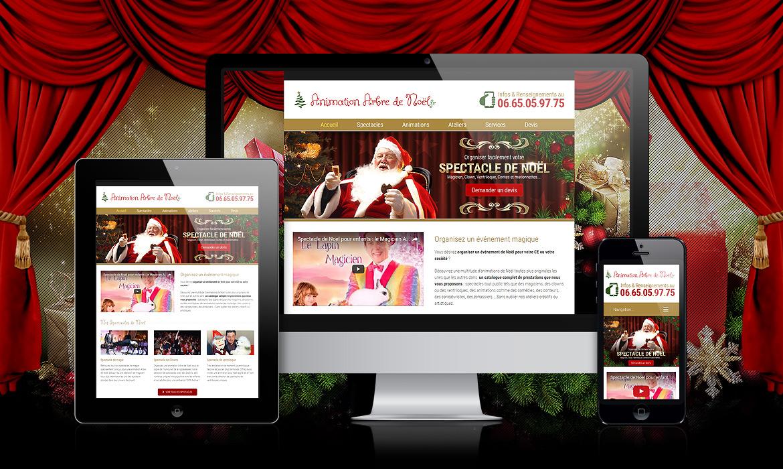 So Magic, société spécialisée dans les animations pour les arbres de Noël d'entreprise, de CE..
