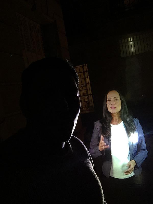 Vitrine holographique mobile