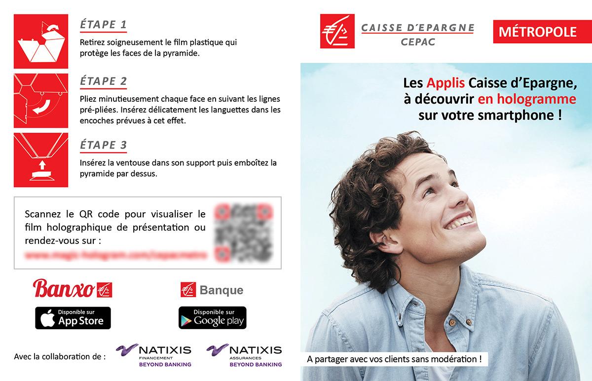 Leaflet Caisse d'Epargne