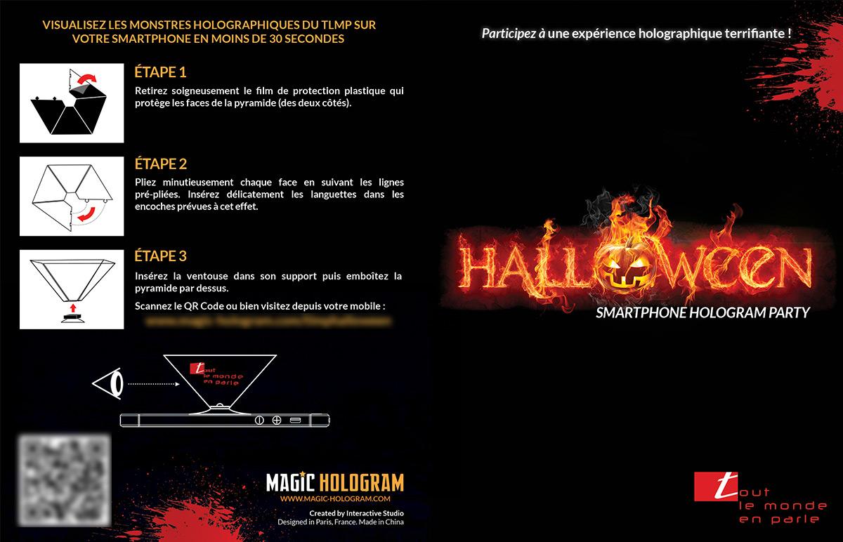 Leaflet Tout le Monde en Parle Halloween