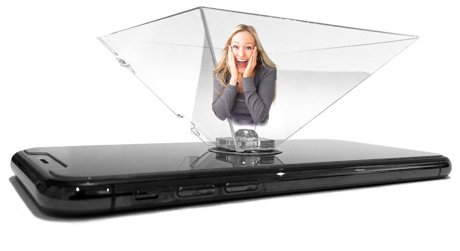 Hologram for smartphone