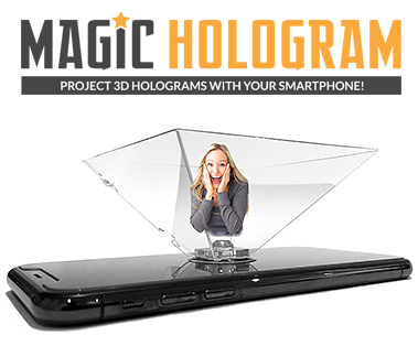 Hologram for smartphone