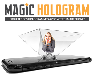 Hologramme pour smartphone