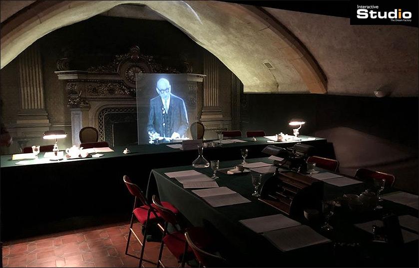 Hologramme taille réel au musée Robert Schuman