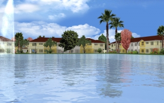 Projet 3D Sunrise Lakes