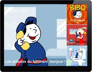 Animation Bibo des Aritsans du Batiment