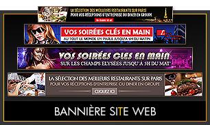 Création de bannières pour site web