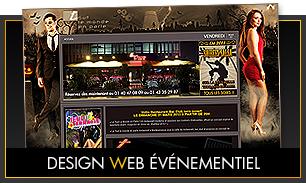 Design web événementiel