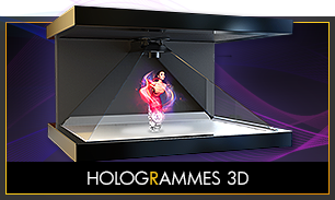 Hologrammes 3D