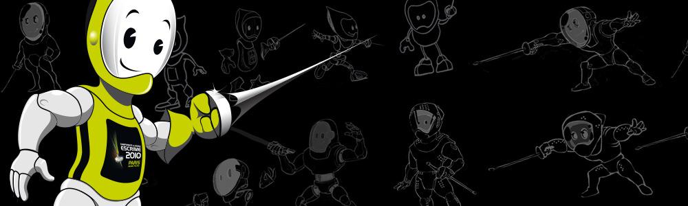 Création de Mascottes animées