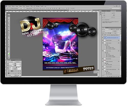 Création de flyers web