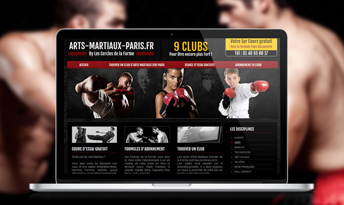 Clubs Arts Martiaux Paris