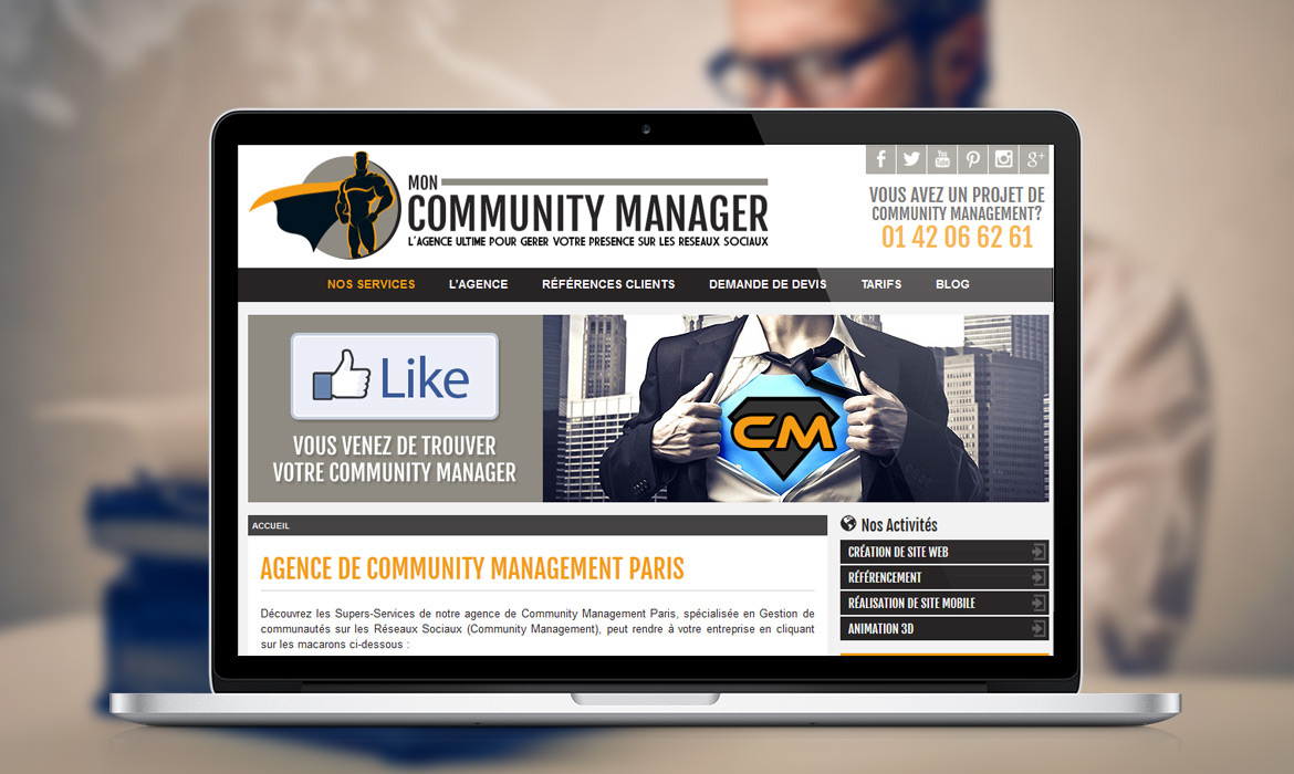 Mon Community Manager