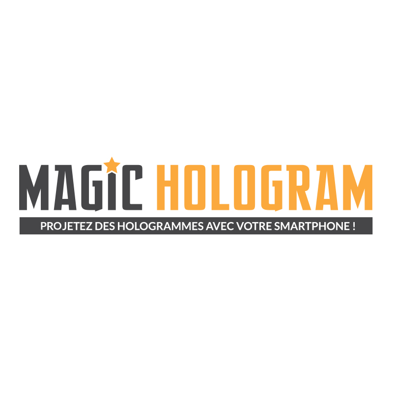 Magic Hologram : Kit Holographique pour smartphone