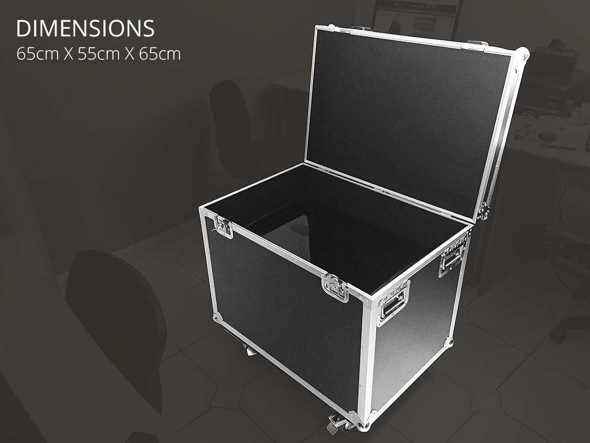 Flight Case transportation SUPERNOVA pyramid