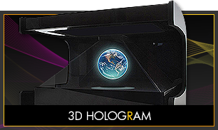 Rent a holographic equipment