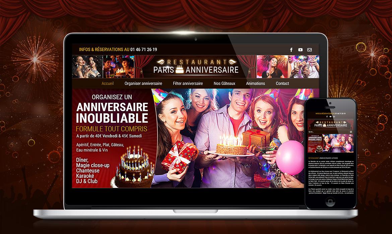 Fêtez ou organiser son anniversaire à Paris au restaurant