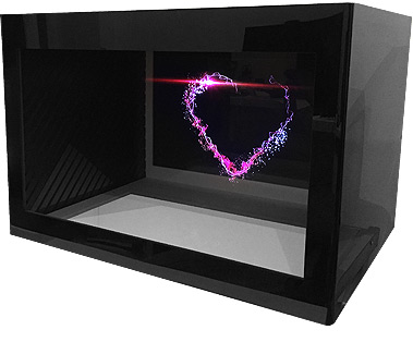 POS 3D Holographic Showcases