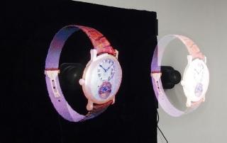 Hologramme 3D flottant montre