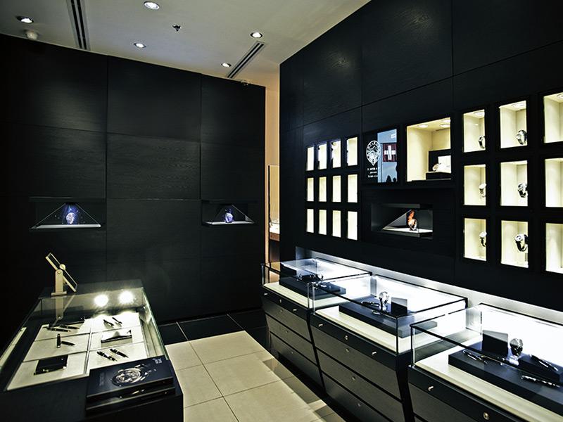 Borne holographique HD3 en boutique