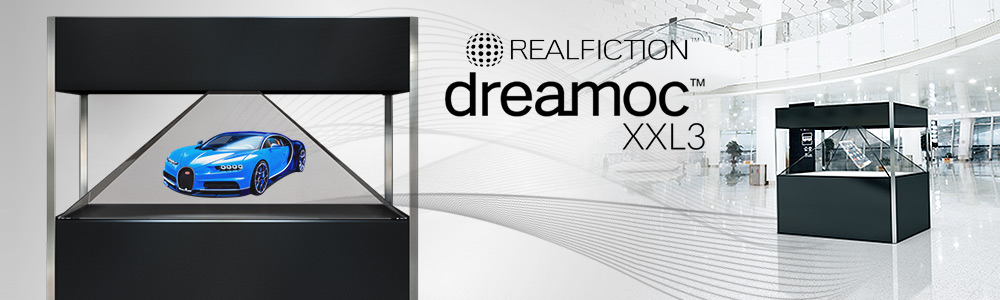 Giant holographic showcase Dreamoc XXL3