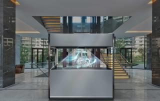 La vitrine holographique XXL3