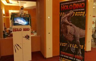 Expérience holographique HOLO DINO POP3