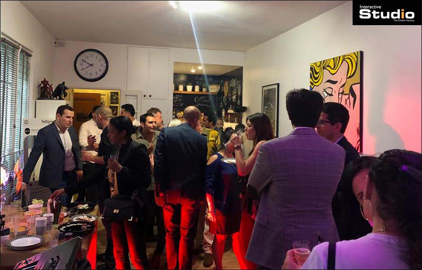 Champagne & Hologrammes II - Afterwork Interactive Studio Paris