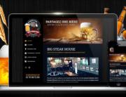 Big Tom Pub / Création de site web bar restaurant pub