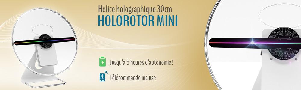 Hélice holographique HoloRotor Mini 30cm