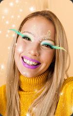 Création de filtre Instagram : maquillage AR