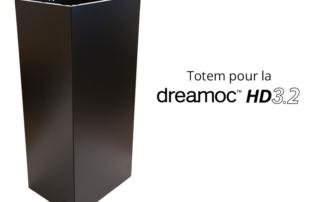 Totem pyramide holographique Dreamoc HD3.2