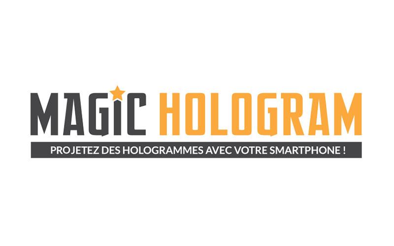 Magic Hologram : Kit Holographique pour smartphone