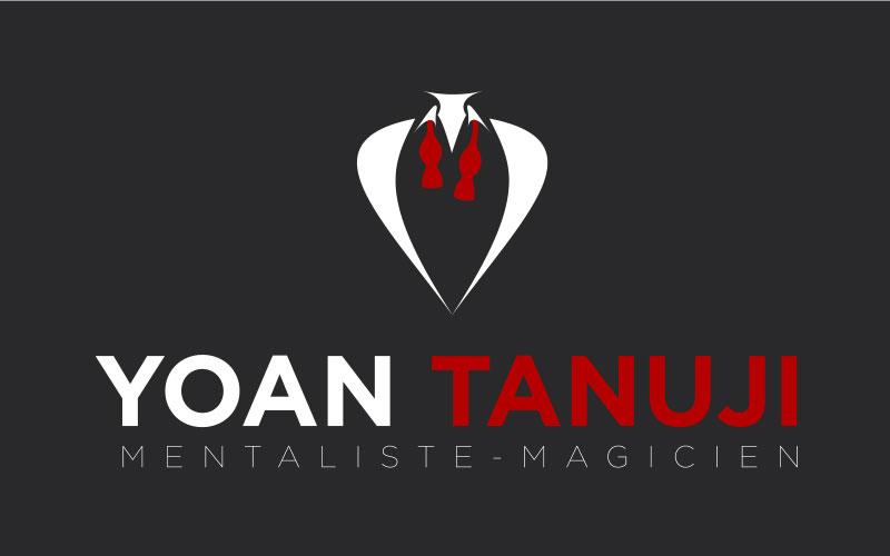Création logotype pour le magicien Yoan Tanuji