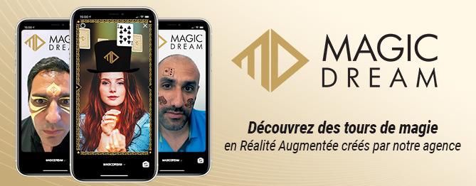 Magic Dream offre des tours de magie en réalité augmenté sur Instagram à ses followers