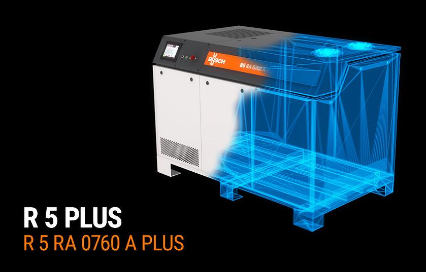 Pompe R 5 PLUS BUSCH en hologramme 3D
