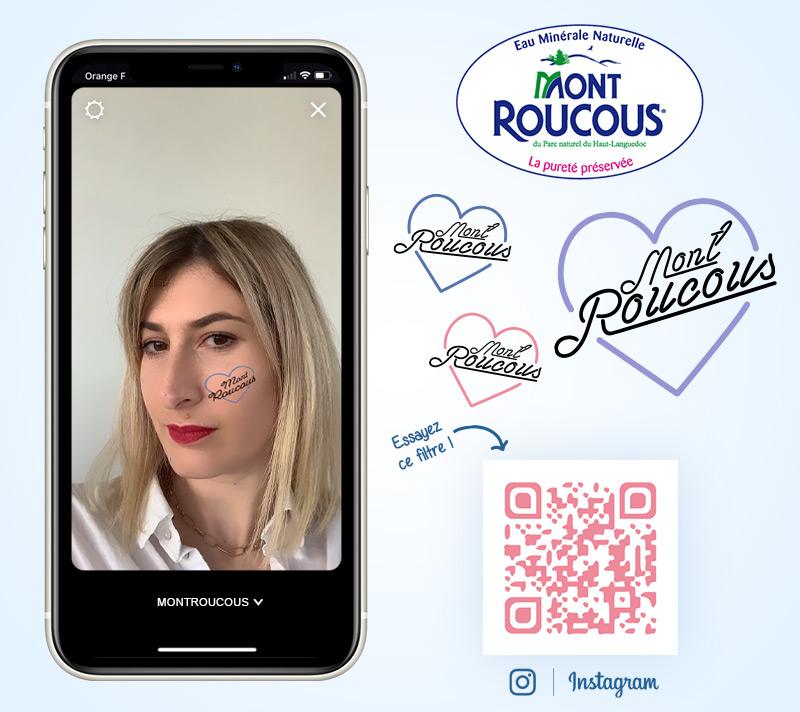 Filtre tatouage Mont Roucous