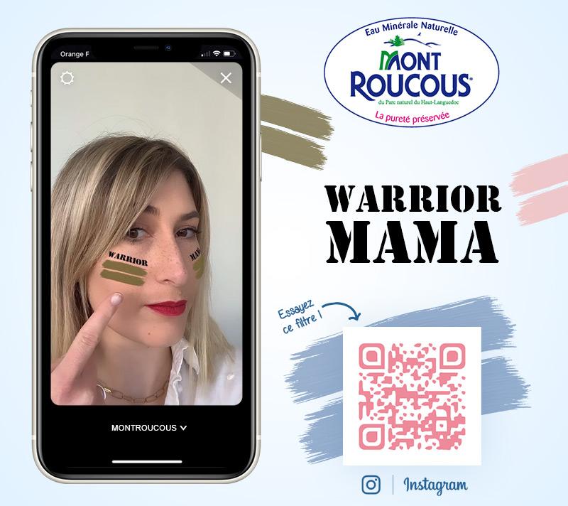 Filtre Mont Roucous Warrior Mama