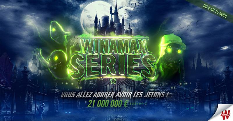 Tournois de Poker en ligne Winamax Series Avril